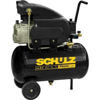 Compressor De Ar Schulz Pratic Air 2 Hp, Monofásico - Csi 8,5/25 - 110 Volts