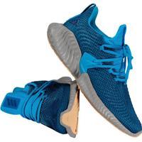 Tênis Adidas Alphabounce Instinct Azul E Cinza