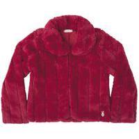 Casaco Ml Pelo Vermelho Infanti - Vermelho - 2 Vermelho