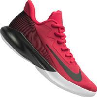 Tênis Nike Precision Iv - Masculino - Vermelho/Preto