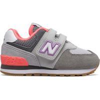 Tênis New Balance 574 | Infantil Cinza