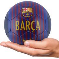 Minibola De Futebol De Campo Barcelona 18/19 Nike - Azul Esc/Azul