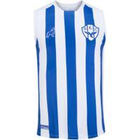 Camiseta Regata De Treino Do Paysandu 2020 Lobo - Masculina - Azul/Branco