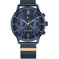Relógio Tommy Hilfiger Feminino Aço Azul - 1782305