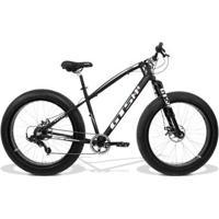 Bicicleta Gts Fat Aro 26 Com Freio A Disco 7 Marchas Câmbio Shimano - Unissex