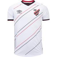 Camisa Do Athletico-Pr Ii 2020 Umbro - Masculina - Branco/Preto