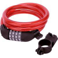 Cadeado Prã³ Para Moto Com Segredo - Vermelho - 2,5X1Acte