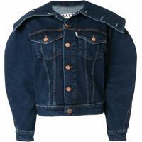 Aalto Jaqueta Jeans Estruturada - Azul