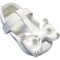 Sapatilha Tico'S Baby Laço Flores Branca