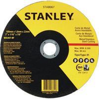 """Disco De Corte Fino Inox Stanley Sta8067 7"""", 180 Mm"""