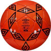 Kanui  Bola Futebol Umbro Campo Cerâmica Vermelha 2af8b58ddf6b1