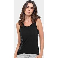 Camiseta Regata Asics Training Knit Graphic Tank Feminina - Feminino-Preto