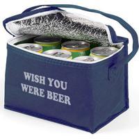 Wish You Were Beer - Bolsa Térmica-Azul Escura