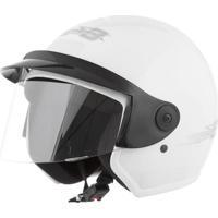 Capacete Moto Aberto Liberty Three 58 Branco - Pro Tork