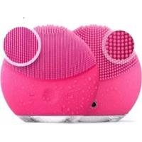Esponja Facial Massageadora Para Limpeza De Pele Eletrica Rosa