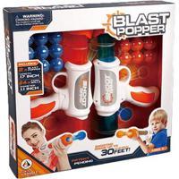 Lançador De Bolinhas Blast Popper Duo Com Acessórios Indicado Para +6 Anos Multikids - Br1132 Br1132