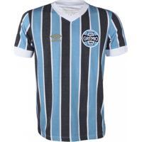 Camiseta Masculina Umbro Grêmio Retrô 1983