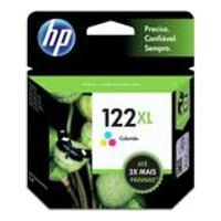 Cartucho Hp 122Xl 7,5Ml Tricolor Original Ch564Hb
