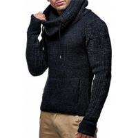 Blusa De Lã Masculino Queensland - Preto