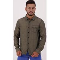 Camisa Hd Stripe Metal Masculina - Masculino-Cinza