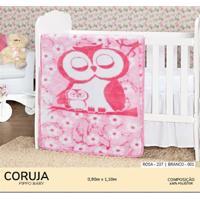 Cobertor Infantil Pippo Coruja
