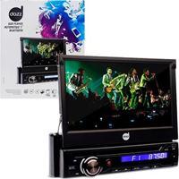 Dvd Player Automotivo Retratil ''7'' Pol, Bluetooth, Camera De Ré, Usb - Dz-5215Bt - Dazz