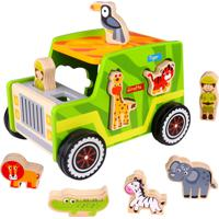 Carrinho Tooky Toy Safari Verde