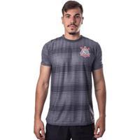 Camiseta Corinthians Jacquar Pacific Chumbo - Masculino-Chumbo