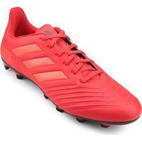 4ebf1be1d920f Netshoes; Chuteira Campo Adidas Predator 19 4 Fg - Unissex