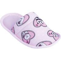 Pantufa Infantil Rosa