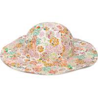 Bonpoint Chapéu Floral - Neutro