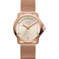 Relógio Vivara Feminino Aço Rosé - Ds13694R0B-5