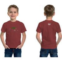 Camiseta Voleio Pro Tetra - Unissex-Vinho