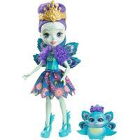 Boneca Fashion E Pet - Enchantimals - Patter Peaco - Feminino