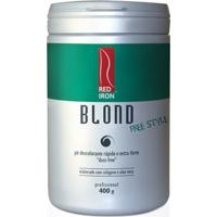 Red Iron Blond Free Style Pó Descolorante Extra Forte 400G - Feminino