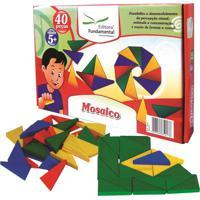 Mosaico Caixa Com 120 Peças - Fundamental - Tricae