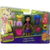 Mini Boneca Polly Pocket - Viagem À Itália - Mattel - Feminino
