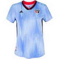 Camisa Do São Paulo Iii 2019 Adidas - Feminina - Azul/Preto