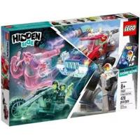 Lego Hidden Side O Caminhao De Acrobacias De El Fuego 70421 - Masculino-Azul