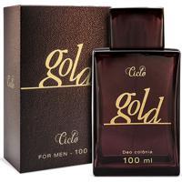 Perfume Ciclo Gold Masculino Deo Colônia 100Ml