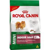 Ração Royal Canin Mini Indoor Adult 8+ 2,5Kg
