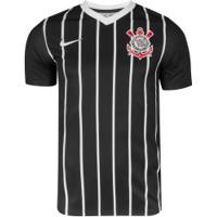 Camisa Do Corinthians Ii 2020 Top Nike - Masculina - Preto/Branco