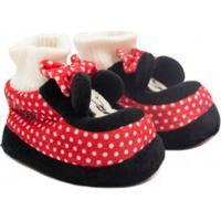 Pantufa Flat Ricsen Minnie Mouse