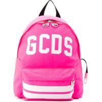 Gcds Kids Mochila Com Logo Reflexivo - Rosa