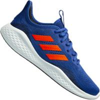 Tênis Adidas Fluidflow - Masculino - Azul/Laranja Esc