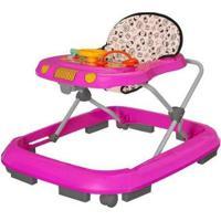 Andador Infantil Tutti Baby Safari - Feminino-Rosa