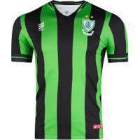 Camisa Do América-Mg I 2019 Sparta - Masculina - Verde/Preto