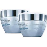 Kit Renew Clinical Antirrugas Creme Facial Preenchedor De Rugas Collagen 3D 30G - Unissex-Incolor