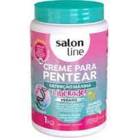 Creme De Pentear Salon Line Definição Máxima Liberado 1Kg - Unissex-Incolor
