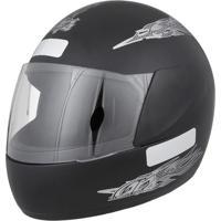 Capacete Moto Liberty Four Tam. 58 Preto Fosco - Pro Tork